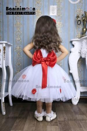 لباس عروس گل برجسته-تصویر 2