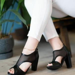 کفش پاشنه دار بغل طوری-تصویر 2