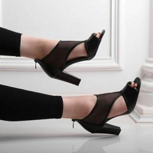 کفش پاشنه دار بغل طوری-تصویر 3