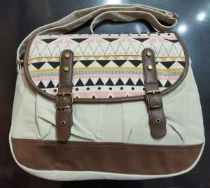 کیف دوشی کتان جدید