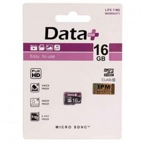 کارت حافظه Micro دیتا پلاس کلاس 10 ظرفیت 16 گیگ