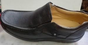 کفش مردانه چرمی (چرم طبیعی)  پا بزرگ-تصویر 3