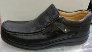 کفش مردانه چرمی (چرم طبیعی)  پا بزرگ-تصویر 2