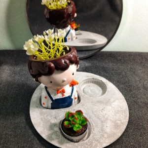 جاشمعی و گلدان-تصویر 4