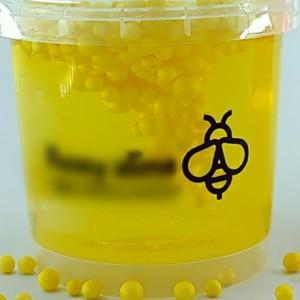 اسلایم مدل عسل دونه برفی