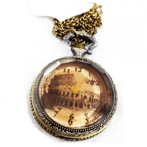 ساعت گردنی طرح Colosseum سایز بزرگ