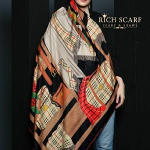 روسری نخی پائیزه