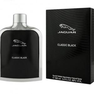 ادو تویلت مردانه جگوار مدل Classic Black حجم 100 میلی لیتر
