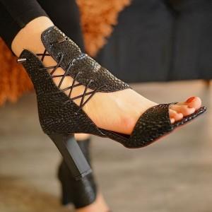 کفش مجلسی پوست ماری