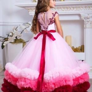 لباس عروس جنس تور و گیپور-تصویر 2