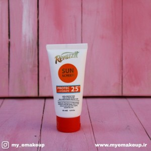 کرم ضد آفتاب رینوزیت SPF25 حجم 50 میل - بی رنگ