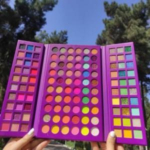 پلت سایه اورجینال 120 رنگ از برند Beauty katie