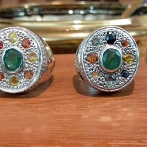 انگشتر جواهر نشان