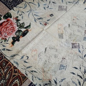 روسری نخ ابریشم گارزا Luxury-تصویر 5