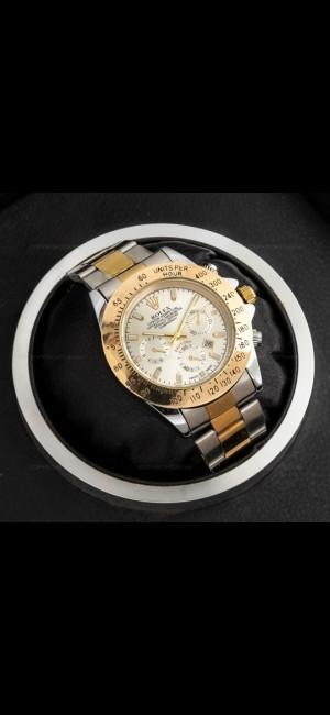 ساعت مچی مردانه رولکس (طلایی،نقره ای)