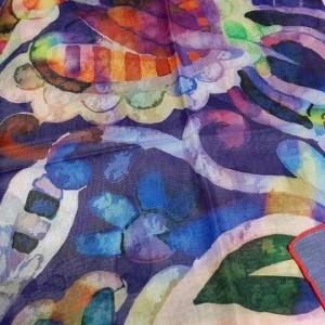 روسری نخی وال ارکیده 118-06-تصویر 3