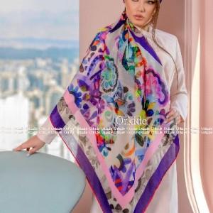 روسری نخی وال ارکیده 118-06