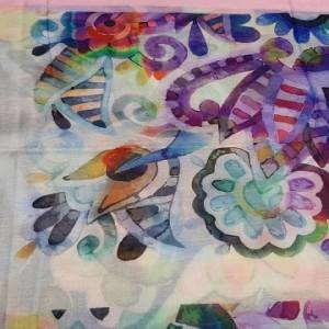 روسری نخی وال ارکیده 118-06-تصویر 4