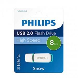 فلش مموری PHILIPS مدل SNOW ظرفیت 8 گیگابایت USB 2.0
