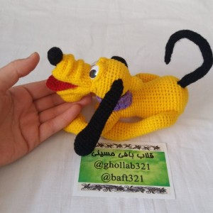عروسک سگ زرد