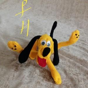 عروسک سگ زرد-تصویر 3