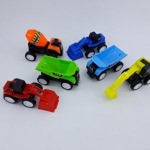 ماشین اسباب بازی راهسازی مجموعه 6 عددی-تصویر 2