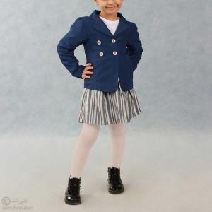 کت دخترانه مجلسی بنفش-تصویر 2