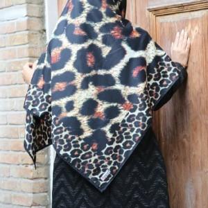 روسری نخی پاییزه کد 07-تصویر 2