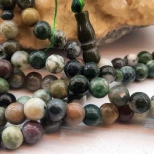 تسبیح صد و یک دانه عقیق خزه ای کدt۰۱۳-تصویر 4