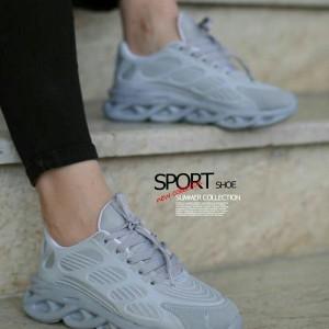 کفش زنانه مدل فشیون طوسی
