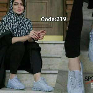 کفش زنانه مدل فشیون طوسی-تصویر 2