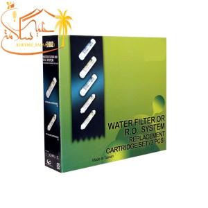 پک پنج عددی فیلتر تصفیه آب شش مرحله ای