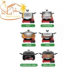سرویس غذاپز همه کاره مدل ۱۰پارچه ۸ نفره- آروشا-تصویر 3