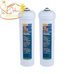 پک دو عددی فیلتر تصفیه آب پلی پروپیلن و کربن فعال