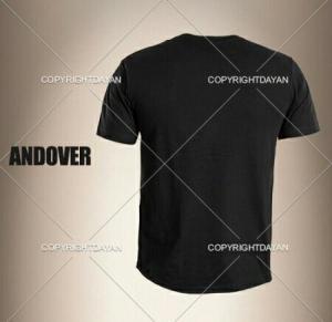 تیشرت مردانه Andover(مشکی) کد کالا ۴۱۵۷-تصویر 2