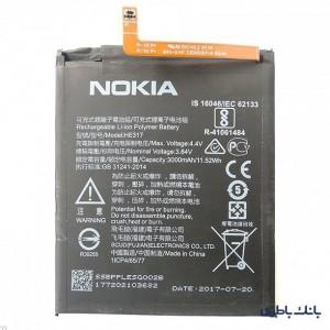 باتری موبایل Nokia 6 با کد فنی HE317