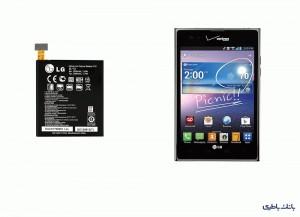 باتری موبایل ال جی Intuition با کد فنی BL-T3-تصویر 3