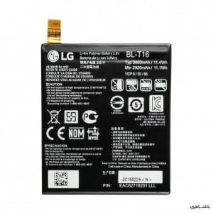 باتری موبایل ال جی G Flex 2 با کد فنی BL-T16
