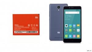 باتری موبایل شیائومی Redmi Note 2 با کد فنی BM45-تصویر 2