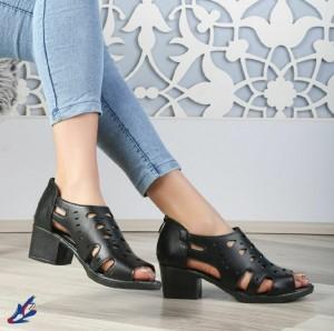 کفش چرم تابستانی زنانه