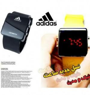 ساعت LED Adidas اصل( ارسال رایگان)