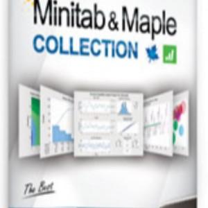 نرم افزار  minitab&maple