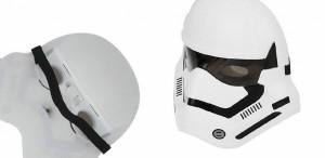 ست تفنگ و ماسک چراغ دارجنگ ستارگان طرح Clone Trooper-تصویر 2