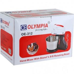 همزن برقی کاسه دار المپیا مدل Olympia OE-312-تصویر 2