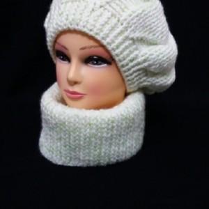 کلاه و شال دستبافت-تصویر 2