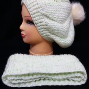 کلاه و شال دستبافت-تصویر 3